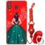 เคส Samsung A8 Star ซิลิโคนสกรีนลายผู้หญิงแสนสวย ราคาถูก (แหวนและสายคล้องแล้วแต่ร้านจีนแถมมาหรือไม่แถม) thumbnail 7
