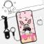 เคส VIVO V3 ซิลิโคน soft case สกรีนลายการ์ตูนน่ารักๆ พร้อมสายคล้องและแหวน ราคาถูก thumbnail 6