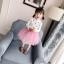 กระโปรง สีชมพู แพ็ค 5 ชุด ไซส์ 80-90-100-110-120 thumbnail 1