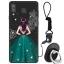 เคส Samsung A8 Star ซิลิโคนสกรีนลายผู้หญิงแสนสวย ราคาถูก (แหวนและสายคล้องแล้วแต่ร้านจีนแถมมาหรือไม่แถม) thumbnail 10