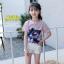 เสื้อ สีชมพู แพ็ค 5 ชุด ไซส์ 120-130-140-150-160 (เลือกไซส์ได้) thumbnail 2