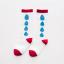 ถุงเท้ายาว สีแดง แพ็ค 10 คู่ ไซส์ S (อายุ 1-3 ปี) thumbnail 1