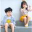 ถุงเท้าสั้น คละสี แพ็ค 10คู่ ไซส์ M (อายุประมาณ 3-5 ปี) thumbnail 7