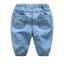 กางเกง สีฟ้า แพ็ค 6 ชุด ไซส์ 90-100-110-120-130-140 thumbnail 2
