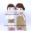 ตุ๊กตาแต่งงานชุดไทย ชุดสีทอง thumbnail 1