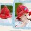 หมวกลายน้องหมีสีแดง แพ็ค 3 ชิ้น thumbnail 2