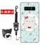 เคส Samsung Note 8 ซิลิโคน soft case สกรีนลายการ์ตูนพร้อมแหวนและสายคล้อง (รูปแบบแล้วแต่ร้านจีนแถมมา) น่ารักมาก ราคาถูก thumbnail 6