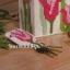 ชุดปักแผ่นเฟรมพวงกุญแจลายดอกทิวลิป thumbnail 1