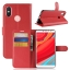 เคส Xiaomi Redmi S2 แบบฝาพับหนังเทียม ด้านในใส่บัตรได้ พับตั้งได้ ราคาถูก thumbnail 10