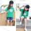 เสื้อ สีเขียว แพ็ค 5 ชุด ไซส์ 120-130-140-150-160 (เลือกไซส์ได้) thumbnail 3
