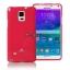 เคส Galaxy Note 4 แบรนด์ Mercury (Goospery) Jelly Case สีชมพูเข้ม thumbnail 1