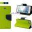 เคสฝาพับ iPhone 6 Goospery Fancy Diary สีเขียวมะนาว by Mercury thumbnail 2