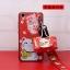 เคส VIVO V3 พลาสติก TPU ลายแมวกวักนำโชค Lucky cat พร้อมสายคล้องมือและกระเป๋าเก็บสายหูฟัง ราคาถูก thumbnail 3