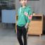 เสื้อคลุม สีเขียว แพ็ค 5 ชุด ไซส์ 120-130-140-150-160 (เลือกไซส์ได้) thumbnail 2