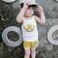 ชุดเซตเสื้อกล้ามลายน้องหมาสีเหลือง แพ็ค 5 ชุด [size 6m-1y-18m-2y-3y] thumbnail 2