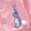 ชุดเซตเสื้อแขนยาวสีชมพูลายกระต่าย+กางเกงกระโปรงสีชมพู แพ็ค 4 ชุด [size 1y-2y-3y-4y] thumbnail 5