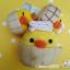 ตุ๊กตากุ๊กไก่โระอิโทะริแช่ออนเซน Rilakkuma Kiiroitori plush doll Onsen series thumbnail 6