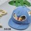 หมวก สีฟ้าอ่อน แพ็ค 5ใบ ไซส์รอบศรีษะ 48cm thumbnail 2