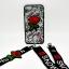 เคส ไอโฟน7 4.7นิ้ว tpu ลูกไม้ปักดอกกุหลาบพร้อมสายคล้อง 2 สั้น/ยาว thumbnail 5