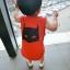 ชุดเซตแบทแมนสีแดง แพ็ค 5 ชุด [size 6m-1y-2y-3y-4y] thumbnail 2