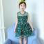 ชุดกระโปรง สีเขียว แพ็ค 6 ชุด ไซส์ 110-120-130-140-150-160 thumbnail 2