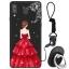 เคส Samsung A8 Star ซิลิโคนสกรีนลายผู้หญิงแสนสวย ราคาถูก (แหวนและสายคล้องแล้วแต่ร้านจีนแถมมาหรือไม่แถม) thumbnail 9