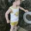 ชุดเซตเสื้อกล้ามลายน้องหมาสีเหลือง แพ็ค 5 ชุด [size 6m-1y-18m-2y-3y] thumbnail 6