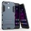เคส Huawei Honor V9 เคสกันกระแทกแยกประกอบ 2 ชิ้น ด้านในเป็นซิลิโคนสีดำ ด้านนอกพลาสติกเคลือบเงาโลหะเมทัลลิค มีขาตั้งสามารถตั้งได้ สวยมากๆ เท่สุดๆ ราคาถูก thumbnail 11