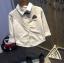 เสื้อ สีขาว แพ็ค 5 ชุด ไซส์ 7-9-11-13-15 thumbnail 1
