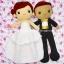 ตุ๊กตาแต่งงาน เจ้าบ่าวเจ้าสาว 11 นิ้ว thumbnail 6