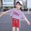 เสื้อ+กางเกง แพ็ค 5 ชุด ไซส์ 120-130-140-150-160 (เลือกไซส์ได้) thumbnail 4