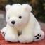 ตุ๊กตาหมีขาวนั่ง Amangs (ขนาด 28 cm.) thumbnail 1