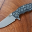 RHK Jurassic Working Finish Gray/Black G-10