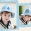 หมวกลายน้องหมีสีฟ้า แพ็ค 3 ชิ้น thumbnail 2