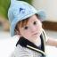 หมวกลายน้องหมีสีฟ้า แพ็ค 3 ชิ้น thumbnail 1