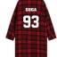 เสื้อคลุมลายสก็อตสีแดง BTS thumbnail 12