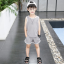 เสื้อ+กางเกง สีเทา แพ็ค 5 ชุด ไซส์ 120-130-140-150-160 (เลือกไซส์ได้) thumbnail 1