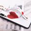 เคส Huawei P20 ซิลิโคนสกรีนลายหัวใจ พร้อมสายคล้องมือ สวยงามมาก ราคาถูก thumbnail 2