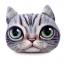 (พร้อมส่ง) หมอนหน้าน้องแมว 3 มิติ (50*40 cm.) thumbnail 2