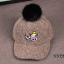 หมวก สีเทา แพ็ค 5ใบ ไซส์ 3-6 ปี รอบศรีษะ 53 ซม thumbnail 1
