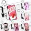 เคส Samsung A9 Pro ซิลิโคน soft case สกรีนลายการ์ตูนน่ารักๆ พร้อมสายคล้องและแหวน ราคาถูก thumbnail 1