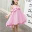 ชุดกระโปรง สีชมพู แพ็ค 5 ชุด ไซส์ 120-130-140-150-160 (เลือกไซส์ได้) thumbnail 2