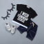 เสื้อ+กางเกง สีดำ แพ็ค 4 ชุด ไซส์ 80-90-100-110 thumbnail 1
