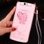 เคส OPPO N1 ซิลิโคน soft case กระต่ายน้อยประดับคริสตัล น่ารักมาก ราคาถูก thumbnail 5