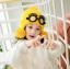 หมวก สีเหลือง แพ็ค 5ใบ ไซส์ 2-8 ปี รอบศรีษะ17 * 18 ซม thumbnail 2