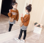 เสื้อตัวนอก+เสื้อตัวใน+กางเกง สีน้ำตาล แพ็ค 5 ชุด ไซส์ 120-130-140-150-160 (เลือกไซส์ได้) thumbnail 4