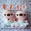 ตุ๊กตาแต่งงาน กระต่ายบ่าวสาว แบบ1 thumbnail 2