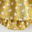 ชุดเดรสสีเหลืองลายขนมปัง+กางเกงใน แพ็ค 4 ชุด [size 6m-1y-18m-2y] thumbnail 5