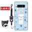 เคส Samsung Note 8 ซิลิโคน soft case สกรีนลายการ์ตูนพร้อมแหวนและสายคล้อง (รูปแบบแล้วแต่ร้านจีนแถมมา) น่ารักมาก ราคาถูก thumbnail 14