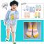 ถุงเท้าสั้น คละสี แพ็ค 10คู่ ไซส์ M (อายุประมาณ 3-5 ปี) thumbnail 2